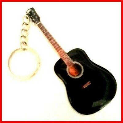 PACO DE LUCIA GUITARE PORTE CLE Flamenco Classique Noire Flamenca Acoustic Black