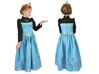 Disney Frozen Elsa Coronation (black) fancy dress costume for 7-8 years. Excellent condition!