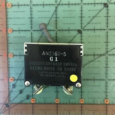 Mechanical Products Aircraft Circuit Breaker An3161p-10 Vintage 10a 10 Amps