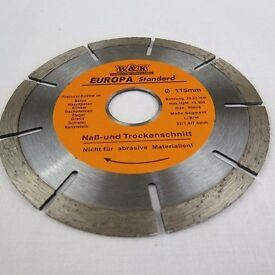 Diamond Wheel 115mm , disc for hard stone, concrete, clinker, granite and other building materials