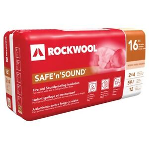 Isolant Roxul Safe and Sound 16""