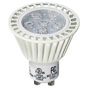 GU10 LED 7W bulbs (50W equivalent) - dimmable - NEW. IN BOX.