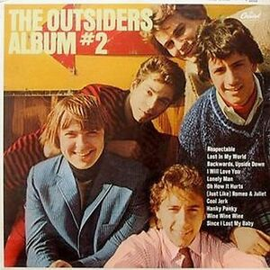 The OUTSIDERS Vinyl LP 1966 GARAGE BAND - RARE