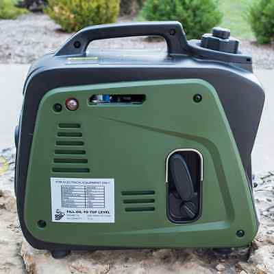 Insignificant Portable Generator Inverter Gas Quiet Home RV Camper Camping Power Roots