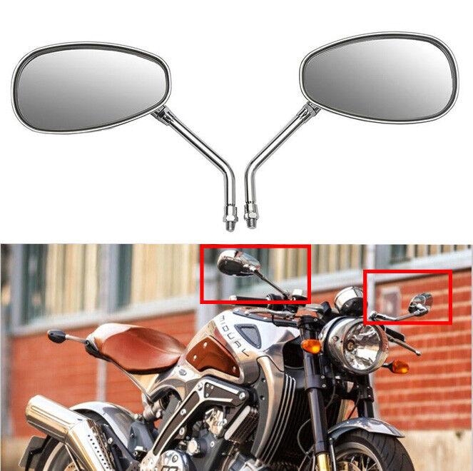 Black 10mm Rear View Side Mirrors for Hyosung GV250 Aquila AU STOCK