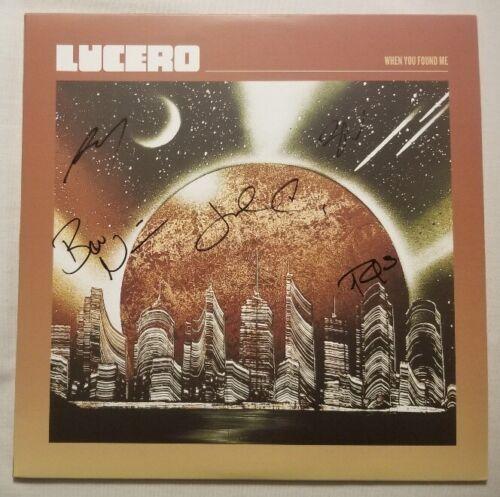Lucero Autographed When You Found Me Vinyl LP