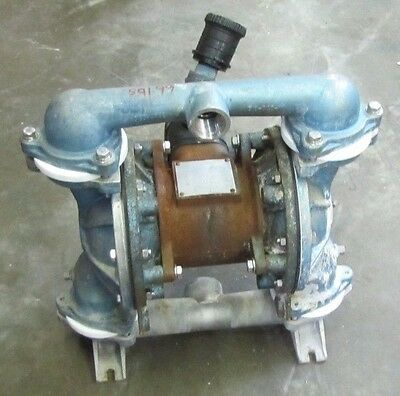 Sandpiper Eb1-m 1-14 X 1 Npt Steel Air Stainless Ss Flow Diaphragm Pump