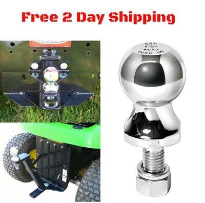 2 Hitch Ball For Atv Lawn Garden Tractor John Deere Cub Cadet Trailer Tow 3500