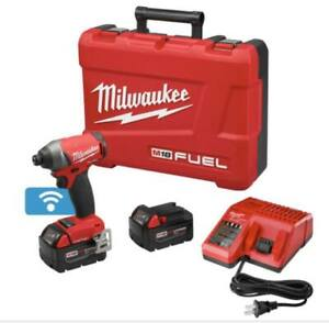 NEW Milwaukee M18 Hex impact driver kit with 2 2ah batteries