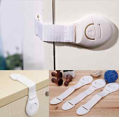Baby Child Pet Safety Safe Lock Fridge Toilet Drawer Cabinet Cupboard Door for sale  Shipping to Canada