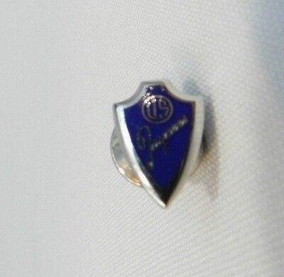 """US Jacyees Navy Blue Lapel Pin 1"""" inch Hat Pin United States Jaycees Foundation"""