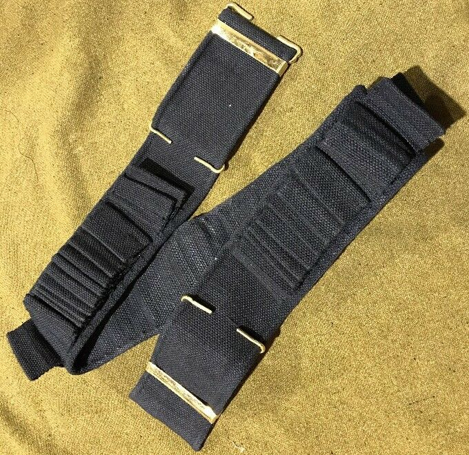 Mills M1894 Blue Infantry 100 round cartridge belt for .30-40 Krag- Regular