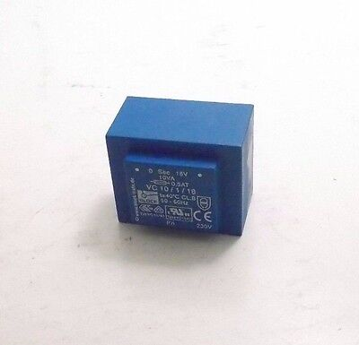 Block Vc 10118 Pcb Mount Transformer 10a 1x18 Op - Prepaid Shipping