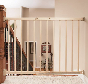 Evenflo Top of Stair Extra Tall Gate, Wood