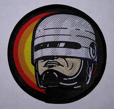 PATCH - RoboCop (woven) - Horror, Sci-Fi, movie, cult, Robo Cop, cyberpunk