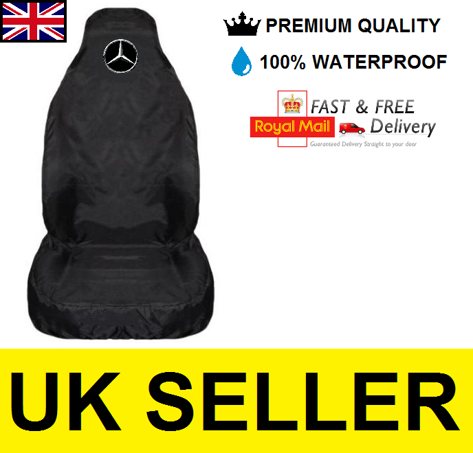 Mercedes-benz Premium Car Seat Cover Protector X1 / 100% Waterproof / Black - unbranded - ebay.co.uk