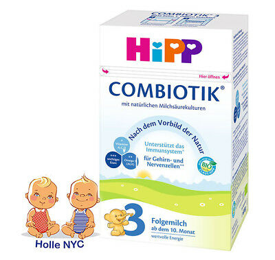 HiPP Combiotic Stage 3 Organic Milk Formula FREE SHIPPING GERMAN 05/2020