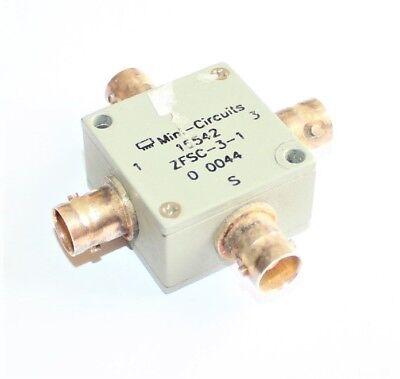 Mini-Circuits Power Splitter Type ZFSC-3-1, 1-500 MHz, BNC