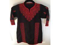 Girls Traditional Palestine/Jordan Embroidered Costume Dress Thobe