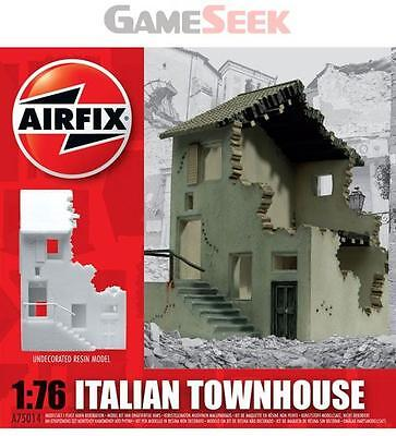 AIRFIX 1:76 ITALIAN TOWNHOUSE UNPAINTED RESIN BUILDING MODEL KIT