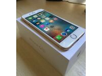 Beautiful iPhone 6s, Gold, 16gb, boxed, O2 network
