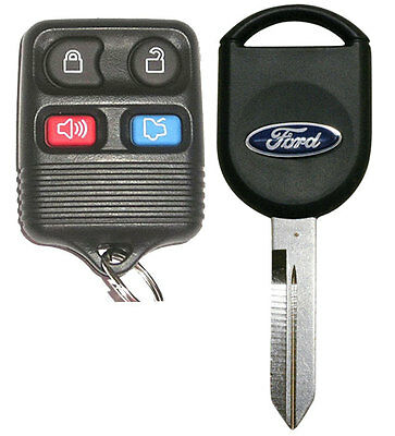 Ford Taurus Chip - Ford chip key + Keyless Entry Remote for Mustang Taurus, Focus Crown Victoria