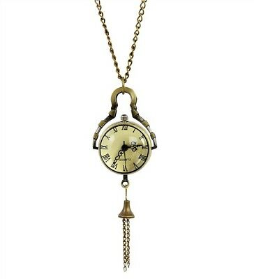 Crystal Ball Watch Pendant Necklace