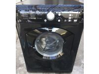 Black Hotpoint 7KG washer dryer free delivery