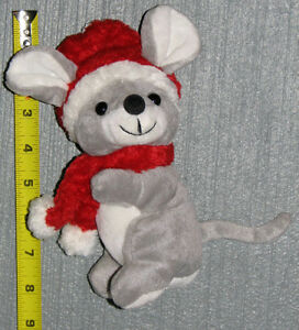 2001 Plush Winter Mouse