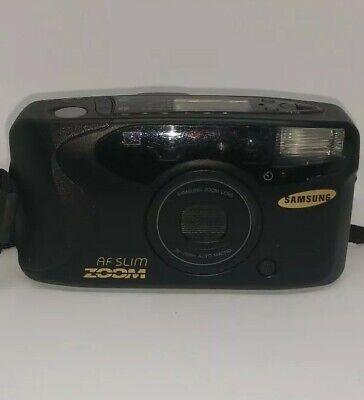 - Samsung Slim Zoom 1150 35mm Point & Shoot Film Camera