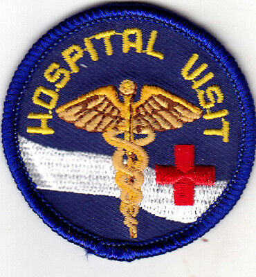 HOSPITAL VISIT Iron On Patch Medical  for sale  Shipping to India