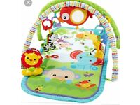Fisher price 3 in 1 baby gym in original box - play mat