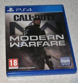 MODERN WARFARE PS4