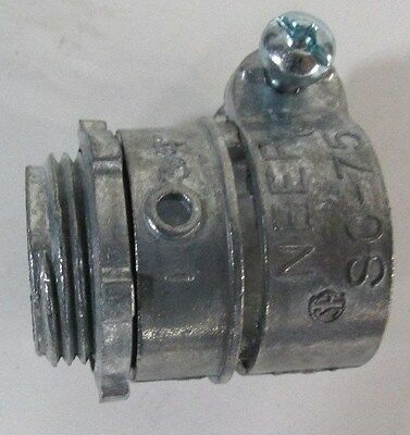 New EGS Electrical Group NEER SC-75 Die-cast squeeze type box connector 40913LR