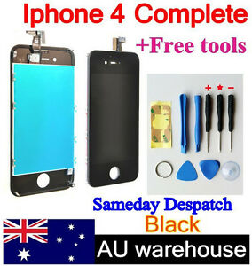 New iPhone 4 Replacement LCD Touch Screen Digitizer Glass Aassembly + 9 Tools