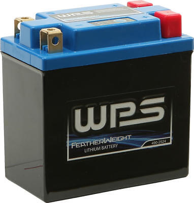 WPS HJTX14AH-FP-Q Featherweight Lithium Motorcycle Battery #HJTX14AH-FP-Q