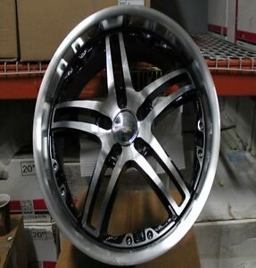 "Four NEW Ikon 20"" Alloy Wheels 5x112"