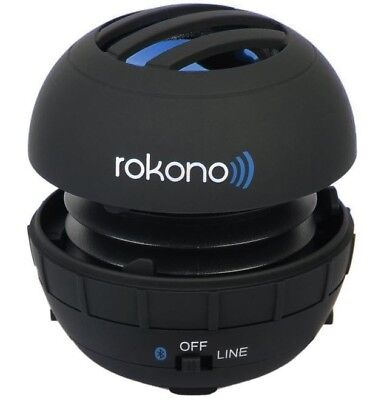 Rokono G10 Mini Wireless Portable Bluetooth Speaker W/ Best Bass System&HD