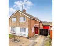2 Bedroom Semi-Detached house large garage and Driveway