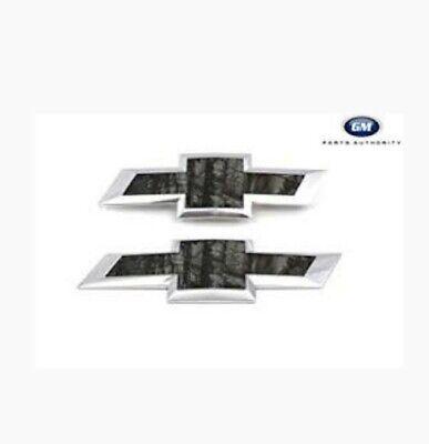 (2) 2016-18 Chevrolet Silverado 1500 Realtree Camo Bowtie Emblems (Brand New!)