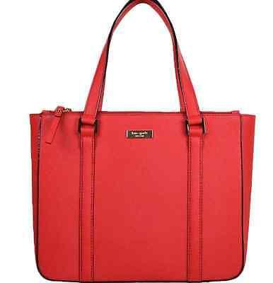 Kate Spade New York Newbury Lane Cadene Chili Red WKRU2101 Shoulder Bag Purse