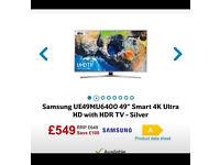 "SAMSUNG 49"" 4K SMART TV BRAND NEW & BOXED"
