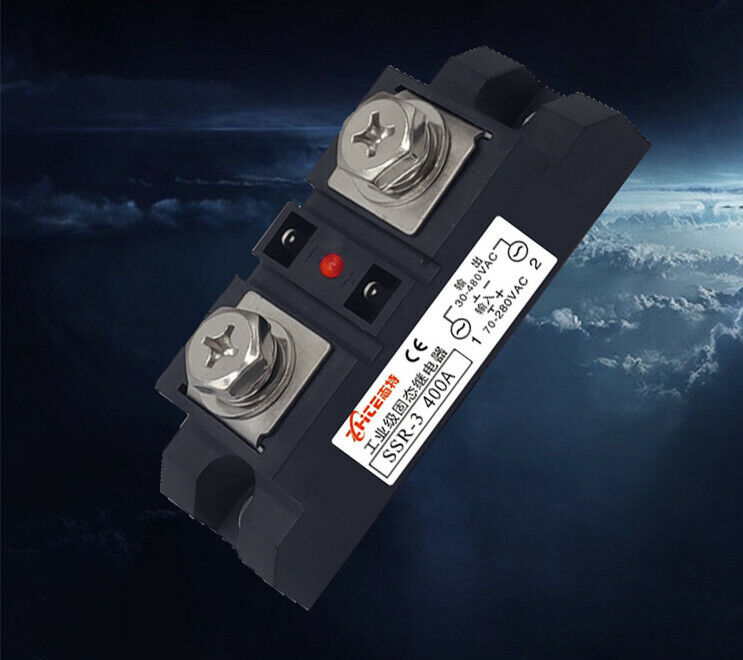 400A industrial grade single-phase solid state relay modular DC-AC SSR-H3 400A