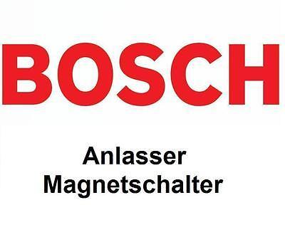 VW BOSCH Anlasser Magnetschalter 2339305324