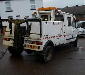 Ldv spec lift / recovery truck
