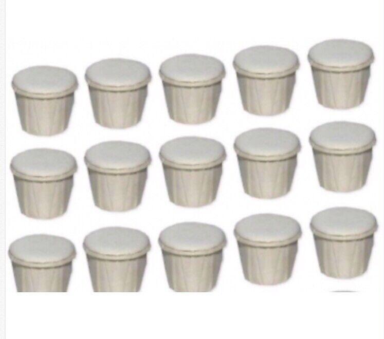 Cascarilla eggshell pack of 15