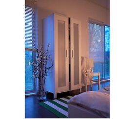 Ikea white wardrobe