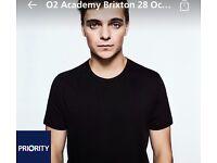 Martin Garrix Brixton - tickets x 2