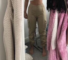 Petite Cargo Trousers