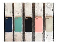 Silicone rubber soft touch iPhone 6 7 8 case cover top quality